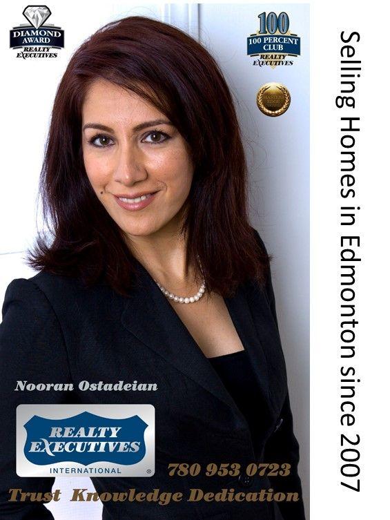 نوران استادیان - مشاور املاک در شهر ادمونتون باسالها تجریه موفق در امر خرید و فروش املاک
